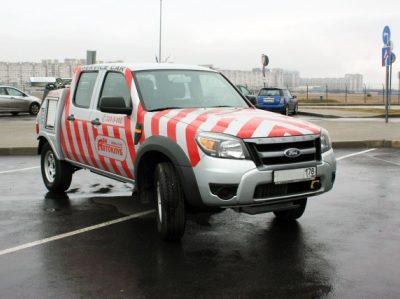 Спецавтомобиль техпомощи Автоклуба А24