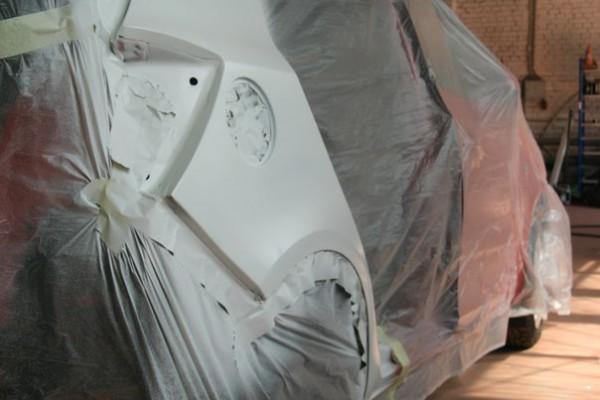 Покраска автомобиля: грунтовка